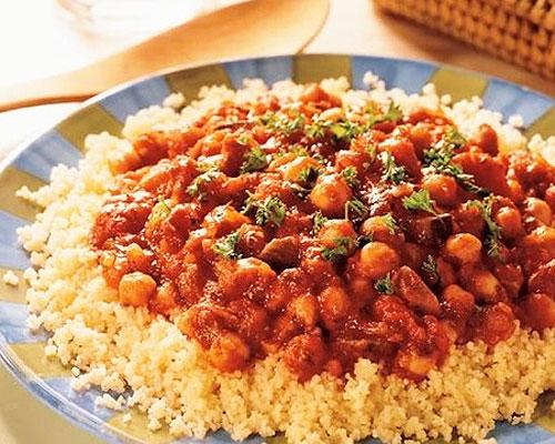 Couscous à la tomate (rondoor)