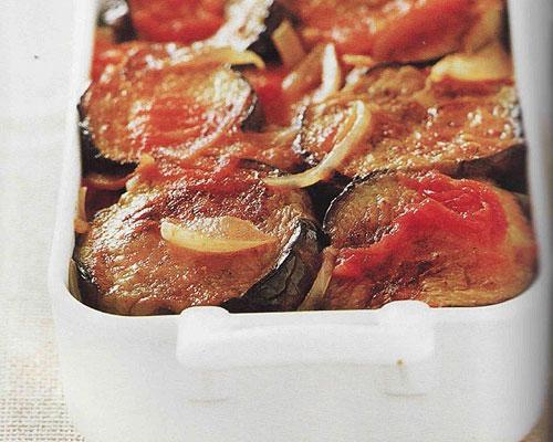 Gratin d'aubergines et pommes de terre
