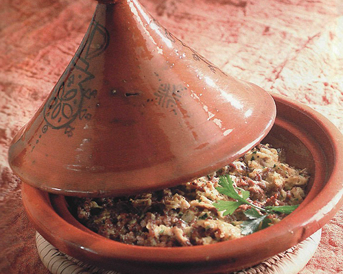 Tajine d'agneau traditionnel de Tunisie